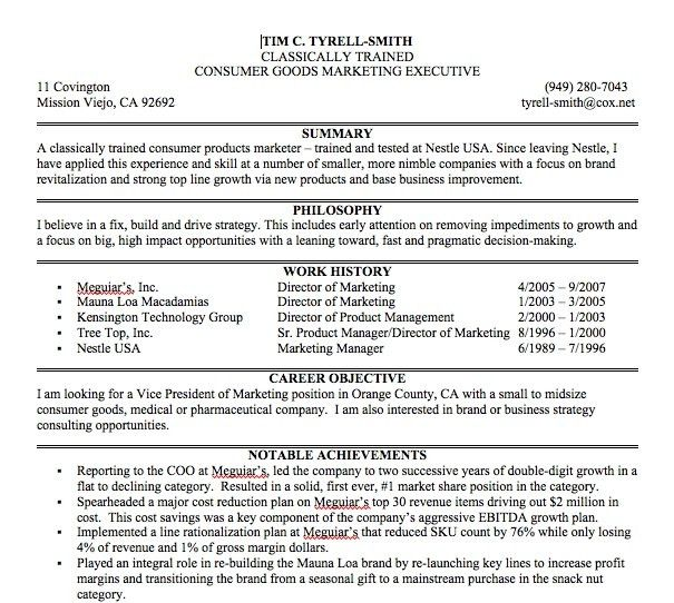 Download Example Of Resume Summary Statements ...