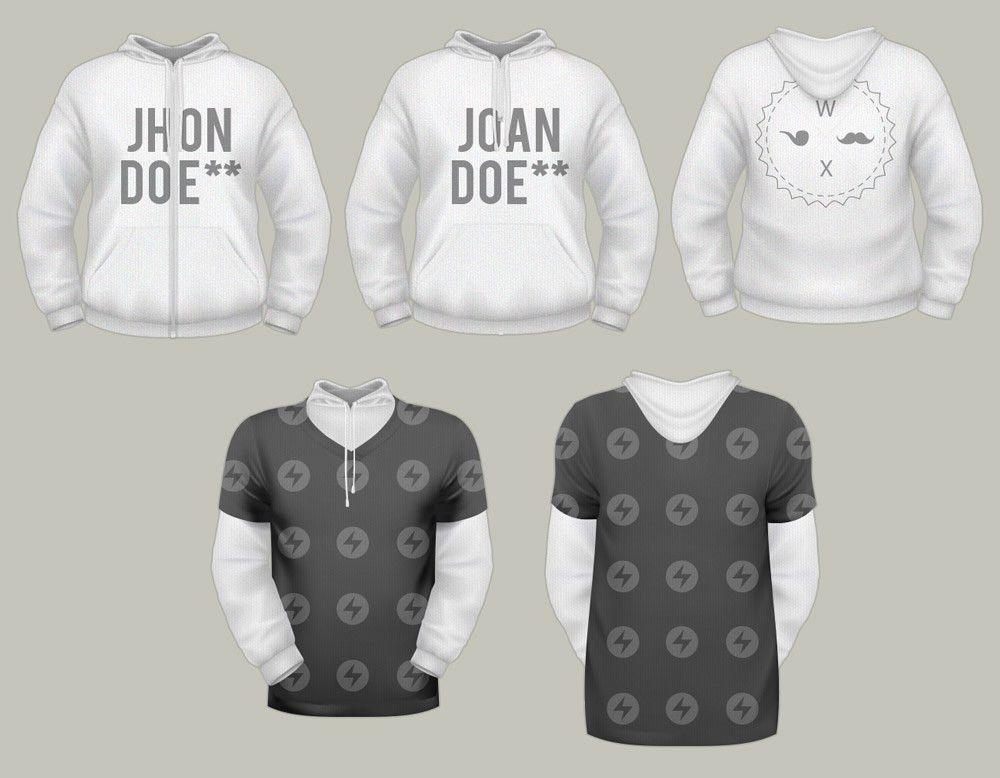 T-shirt Free PSD MockUp Templates - Responsive Joomla and ...