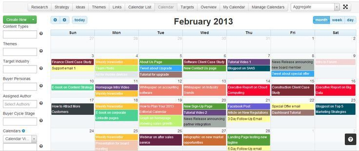 Editorial Calendars are a hot topic in the content marketing world ...