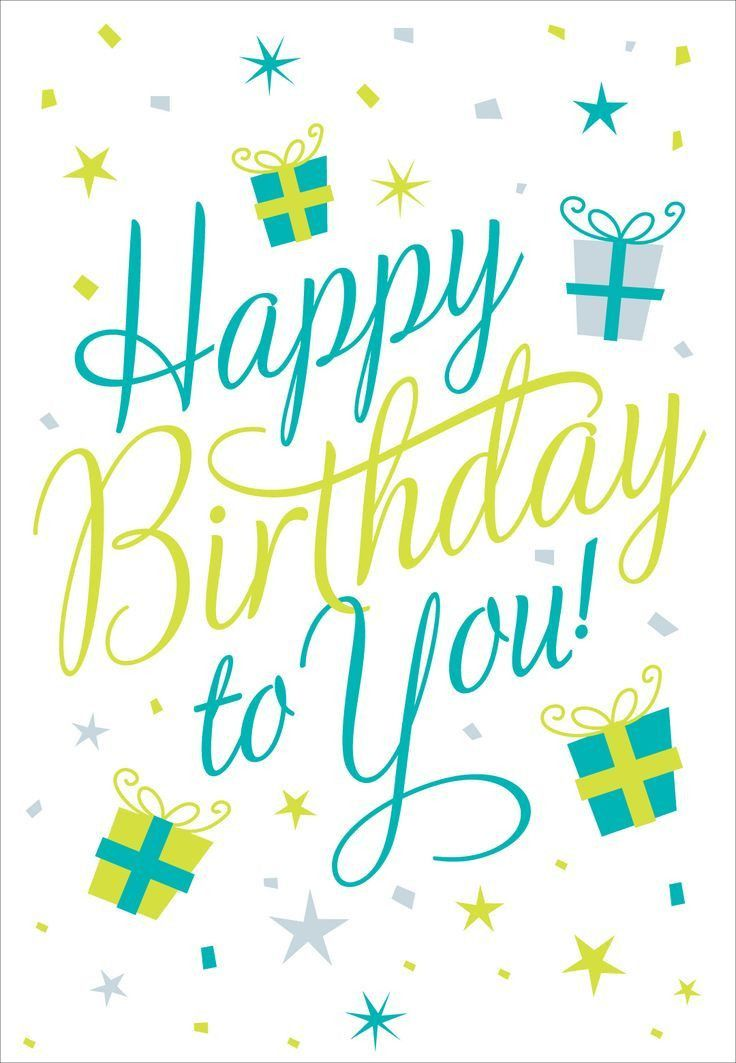 167 best Birthday Cards images on Pinterest | Free printable ...
