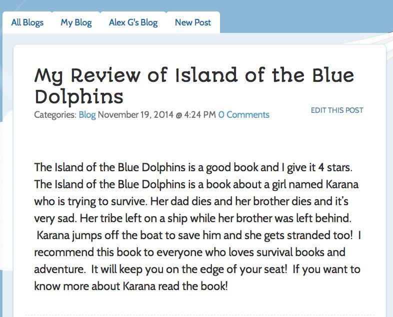 3 Ways to Use Blogging in ELA – Kidblog