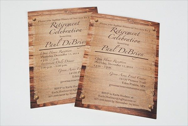 Sample Reception Invitation Template - 6+ Free Documents Download ...