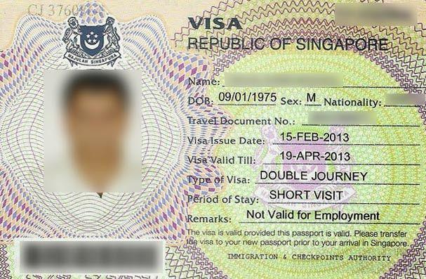 Singapore russia visa