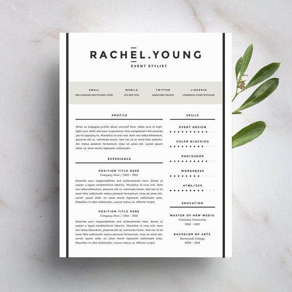 Best 20+ Modern resume template ideas on Pinterest | Resume ...