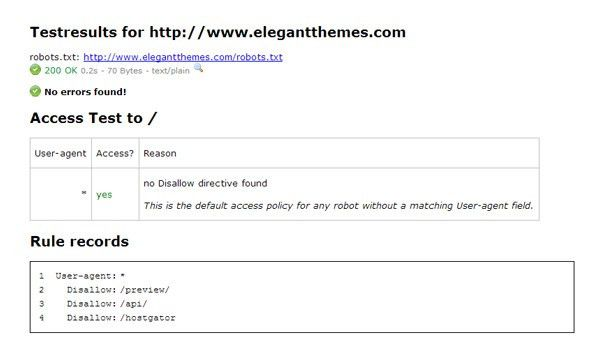 How To Create And Configure Your Robots.txt File | Elegant Themes Blog