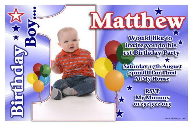 Card Invitation Ideas. great design First Birthday Invitation ...