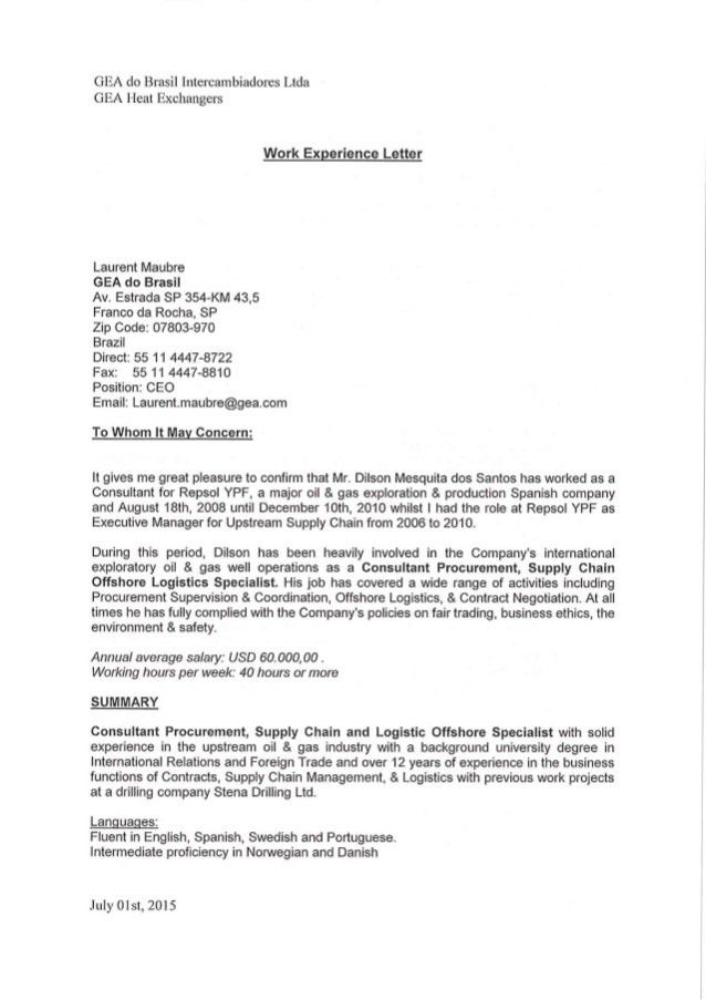 Experience Letter Reposl YPF Rev1