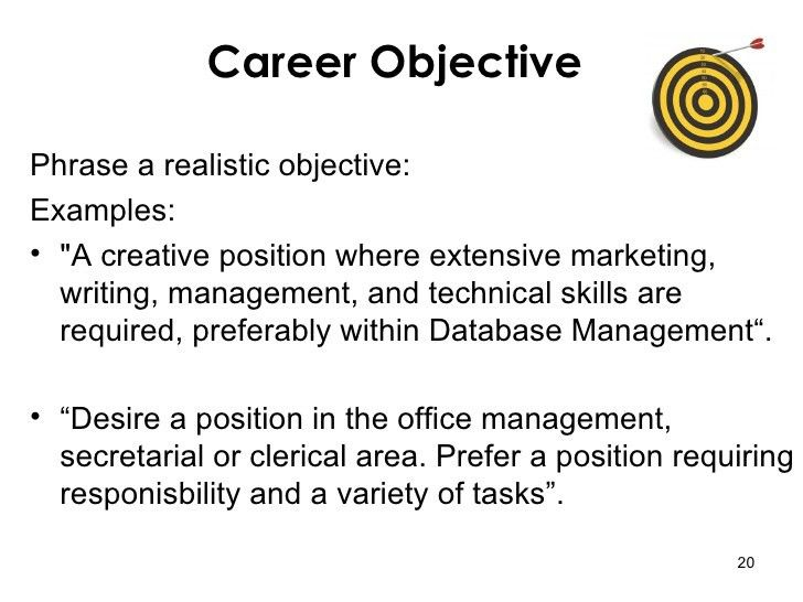 Resume Objectives: How to Write a Resume Objective