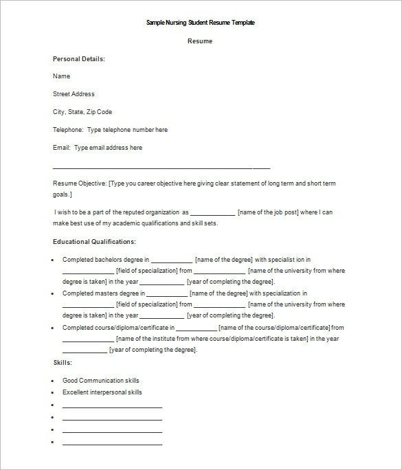 Download Resume Templates For Microsoft Word. Doc Resume Sample ...