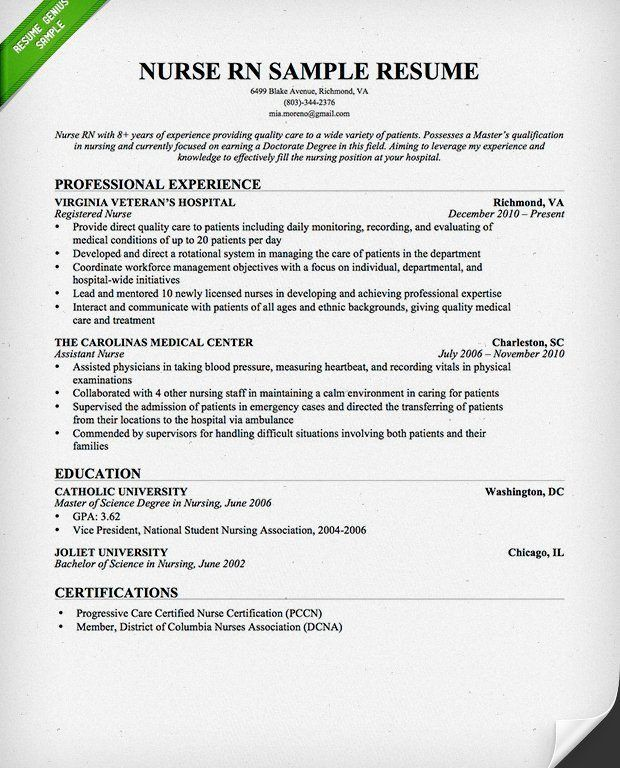 Winsome Cover Letter For Nursing 9 Samples - CV Resume Ideas