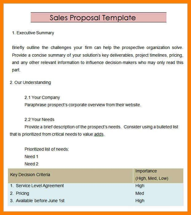 6+ product sales proposal template | cfo cover letter