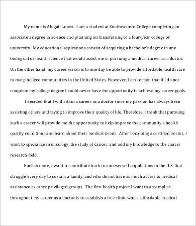 Scholarship Essay Template - 7+ Free Word, PDF Documents Download ...