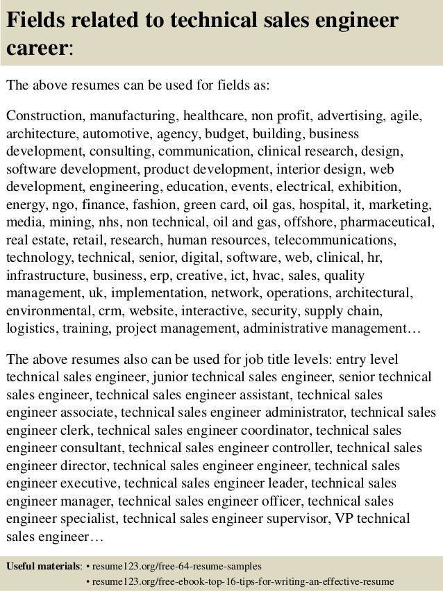 technical sales resume examples technical sales resume executive