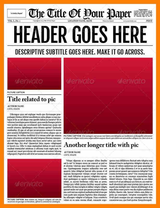 6+ newspaper template for word | attendance sheet