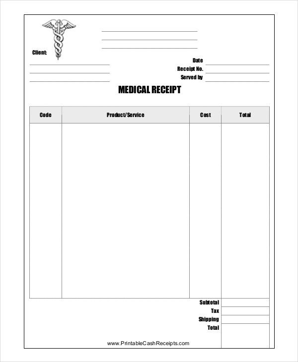 Store Receipt Template - 8+ Free Word, PDF Document Downloads ...