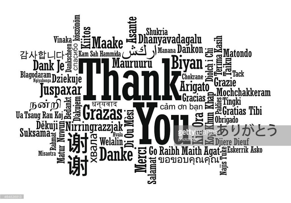 Thank You Word Cloud Vector Art | Thinkstock