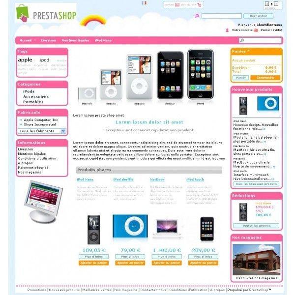 31 best Prestashop themes - templates images on Pinterest | Menu ...