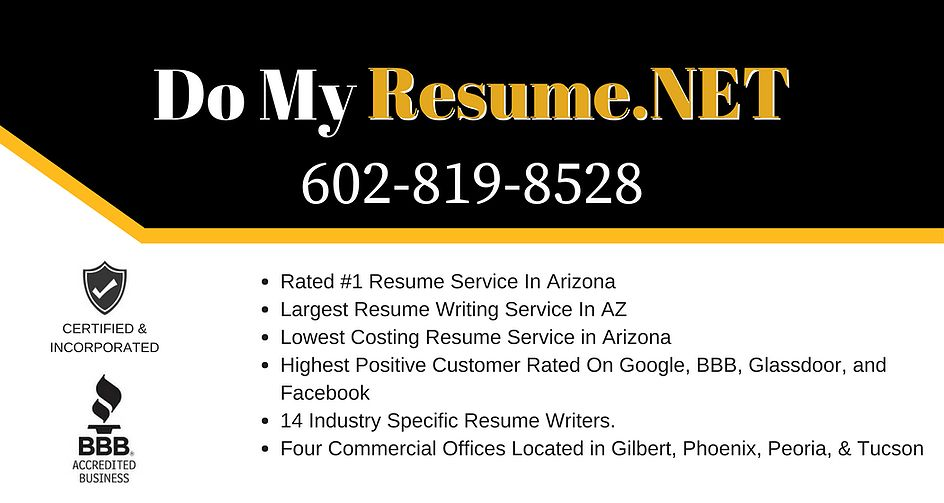 Ranked #1 Resume Writing Service In Arizona | Do My Resume.NET