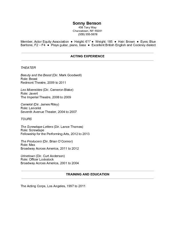 Resume Templates For Teens. How To Write A Resume For My First Job ...