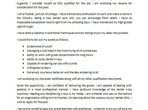 dental assistant cover letter sample cover letter job ideas for ...