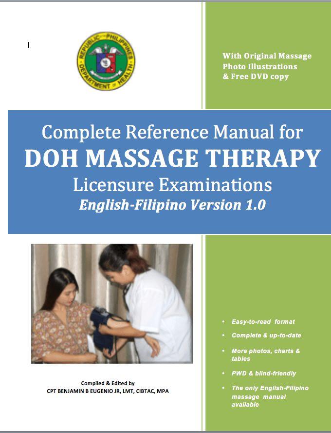 DOH Massage Training Manual (English-Filipino) – AWSA Online School