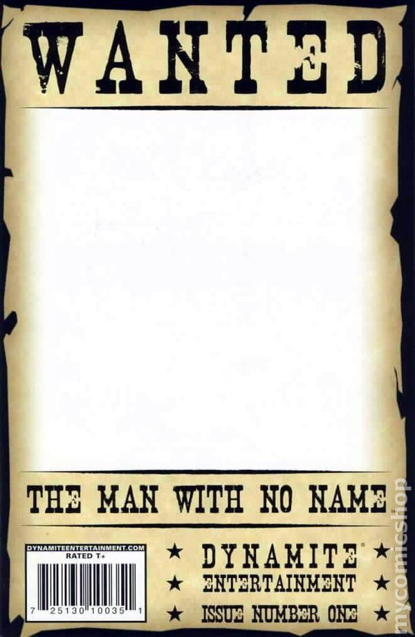Man with No Name (2008 Dynamite) comic books