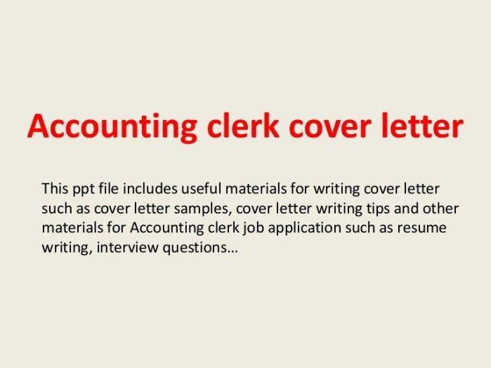 Index Clerk Cover Letter
