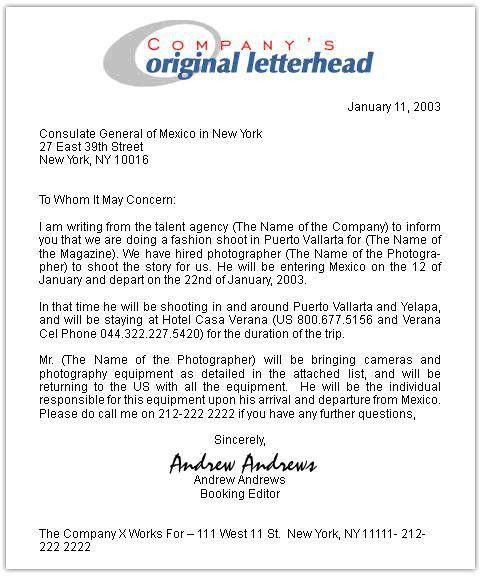 Invitation Letter For Us Visa. Business Invitation Letter Template ...