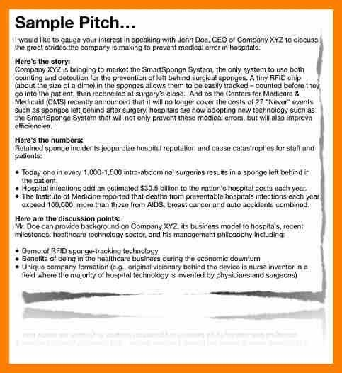Business Pitch Template. one page business plan template 4 free ...