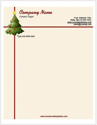 Event Letterhead Templates for MS Word | Word & Excel Templates