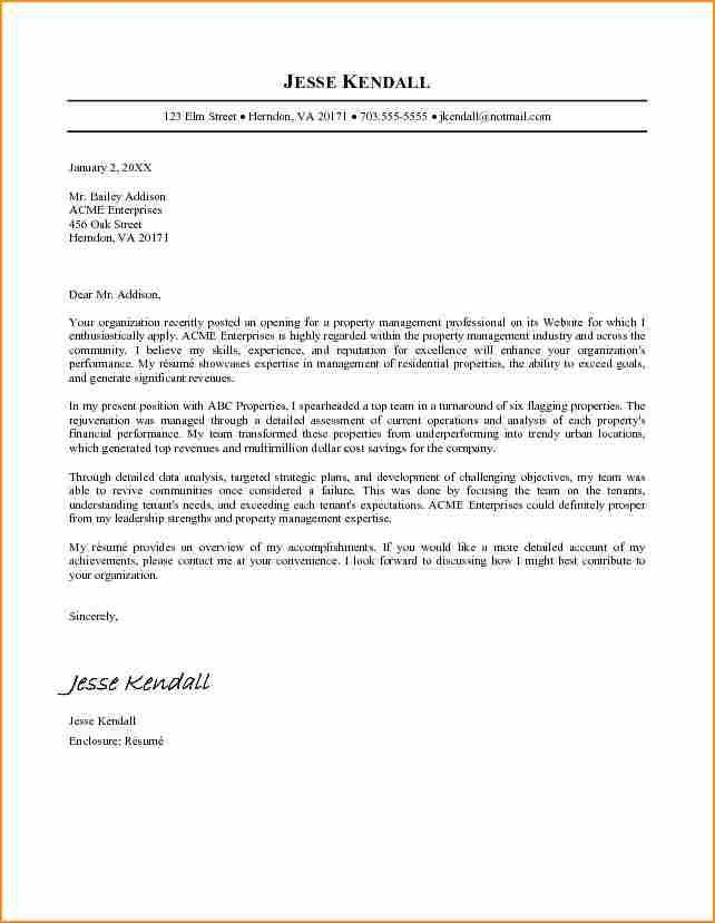 7 2016 cover letter examples - Basic Job Appication Letter