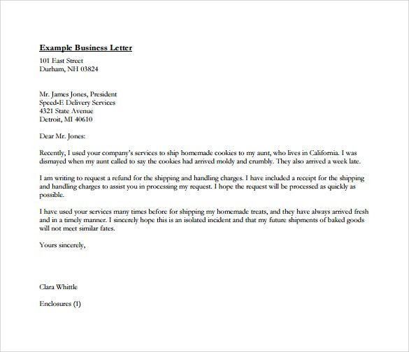 Print Out Business Letter Sample Word Document Formal : Vlcpeque