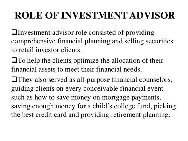 Rudy wong , investment advisor