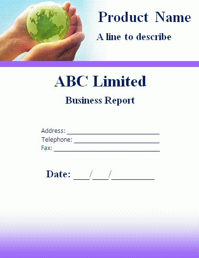Business Report Template.Monthly Report Template.gif - Letter ...
