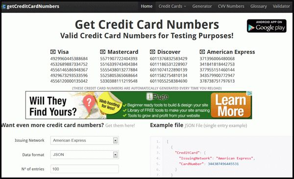 Get Free Credit Card Numbers in Pakistan | AskMohsin.com