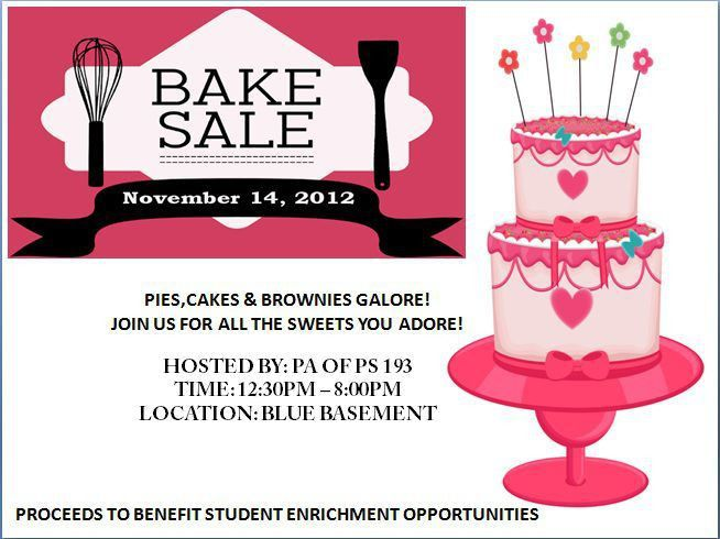 Engaging Free Bake Sale Flyer Templates for Fundraising Events ...