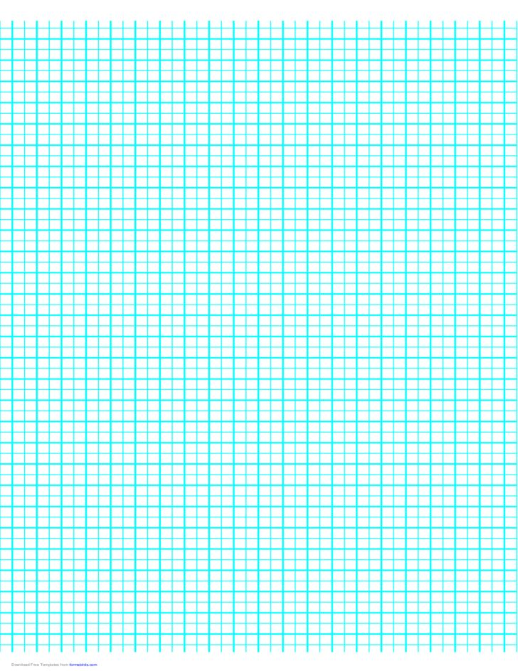 1 Line per 5 mm Graph Paper on A4 Paper (Centimeter) Free Download
