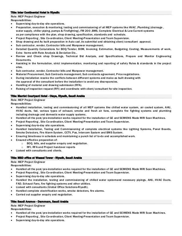 project engineer resumes engineer resume project engineer resume