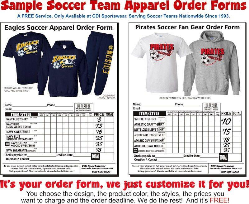 Risk-Free Apparel   Soccer Sportswear