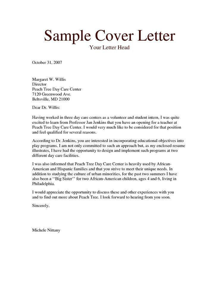 The 25+ best Cover letter examples uk ideas on Pinterest | Cv ...