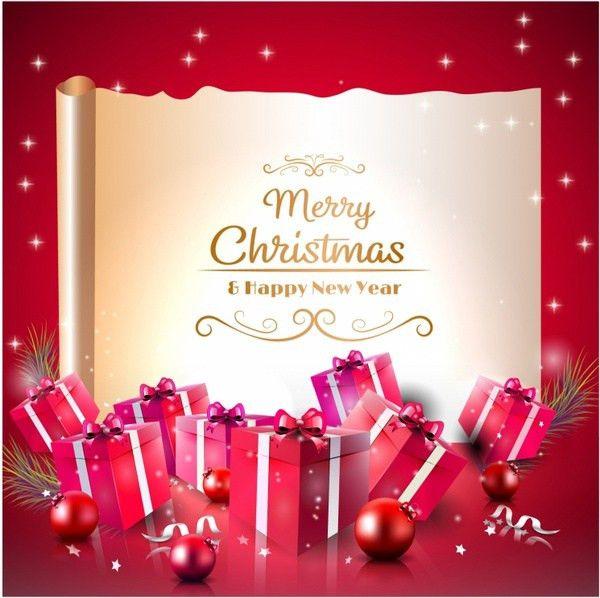 Christmas greetings 2017 free vector download (9,399 Free vector ...