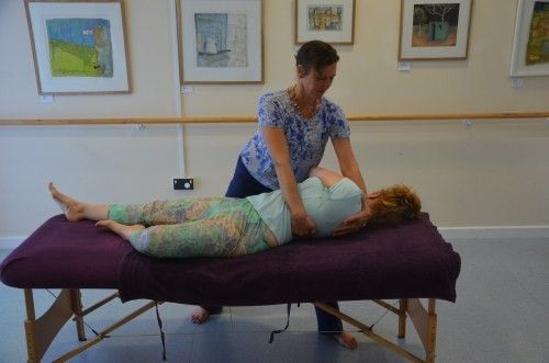 Ruth Bell -massage therapist in Cullompton and East Devon