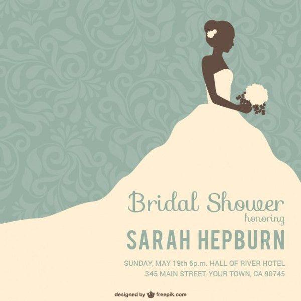 Bridal Shower Invitation Template - 23+ Free PSD, AI, EPS, Vector ...