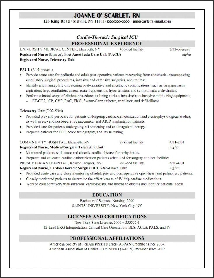 cardiac nurse practitioner sample resume 32 best healthcare