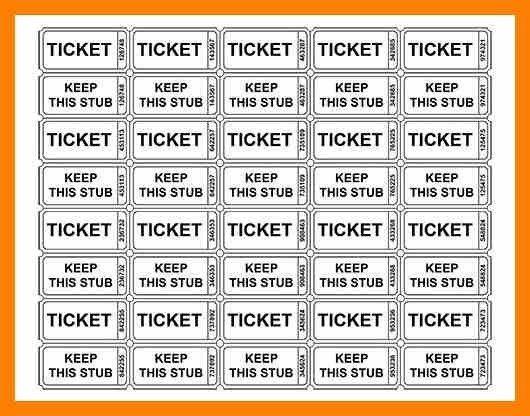 6+ printable raffle tickets pdf | attendance sheet
