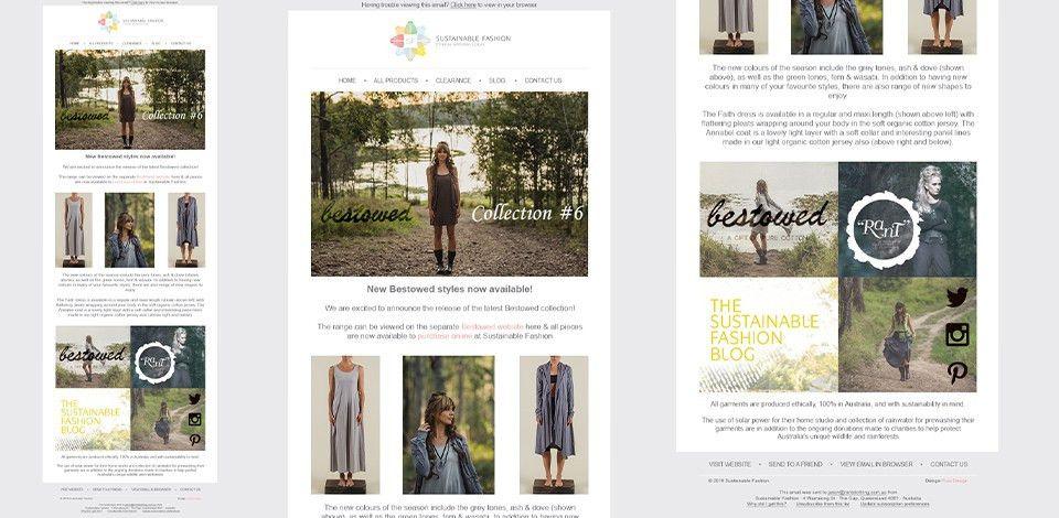 Email Newsletter Template Design York UK | PURO DESIGN