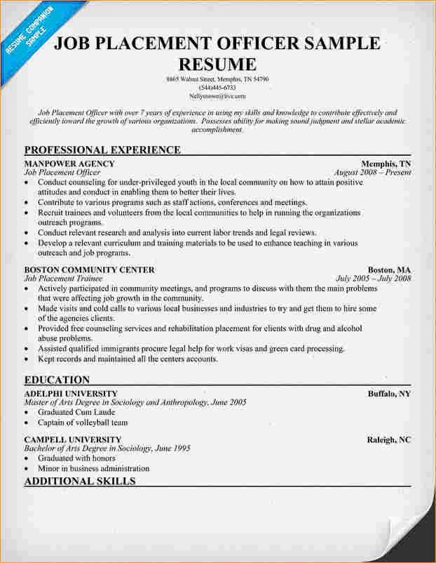 Any job resumes samples - Business Proposal Templated - Business ...