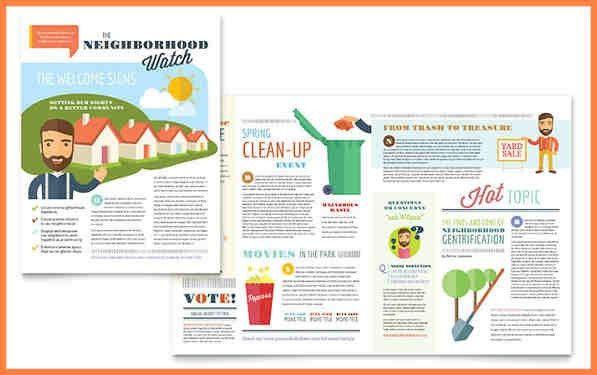 5+ free sample newsletter template | Newsletter Template