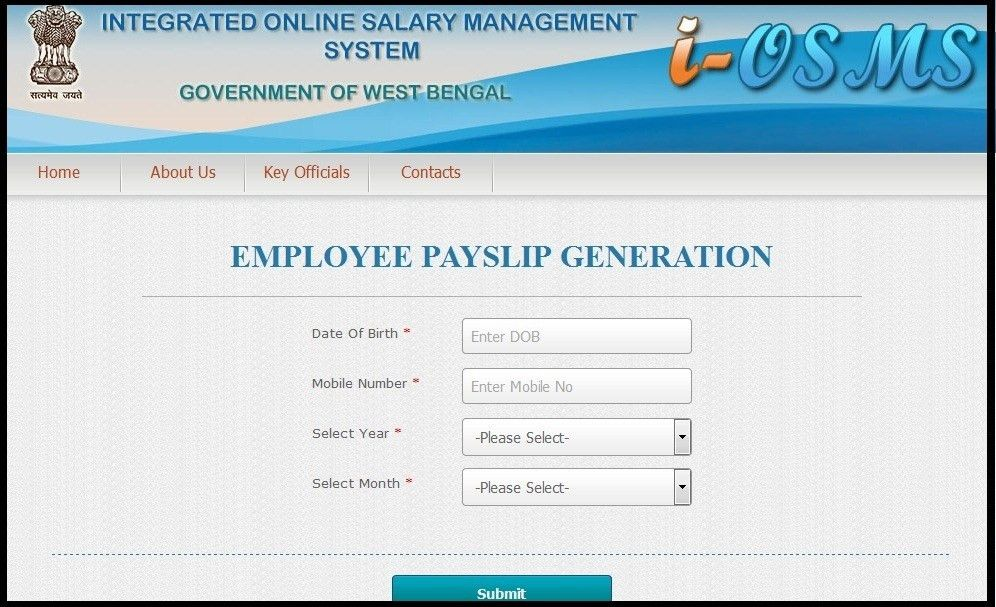 Employee Payslip Generation: Primary School « TFPG