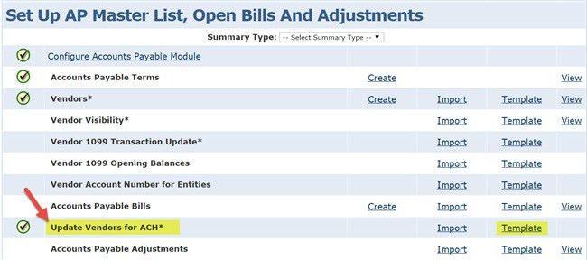 Accounts Payable: Setting up ACH with Intacct | CliftonLarsonAllen LLP